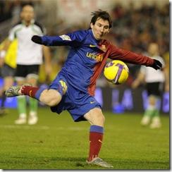 0 barcelona racing lionel messi scoring goal 5000