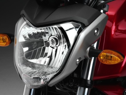 Yamaha Bison Head Lamp